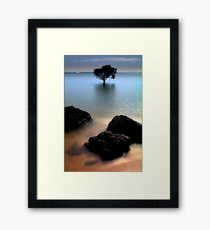 Night at Tenby Point Framed Print