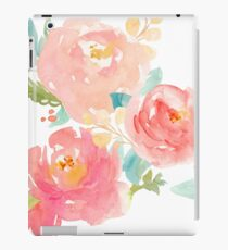 Peonies Watercolor Bouquet iPad Case/Skin