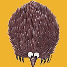 Echidna Yellow by Lou Van Loon