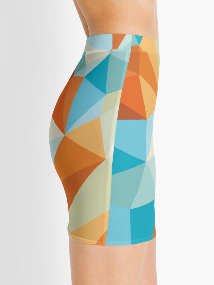 Alternate view of Shard – Gold Fish Mini Skirt
