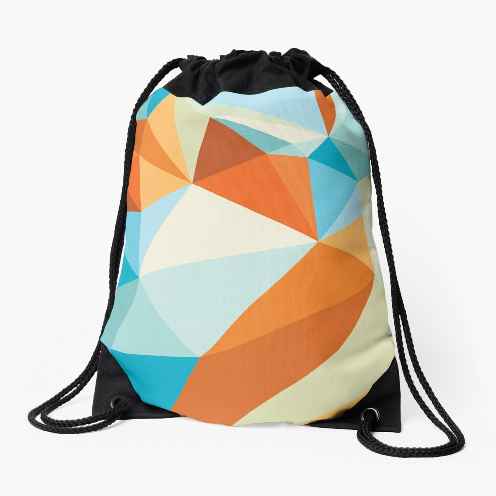 Shard – Gold Fish Drawstring Bag