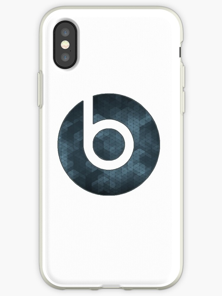 Beats By Dre Abstract Logo Iphone Cases Covers By Ashah Redbubble