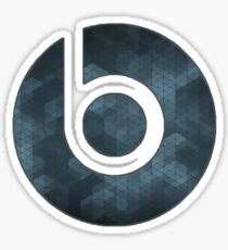 Beats By Dre Abstract Logo Sticker