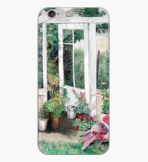 Summer Greenhouse iPhone Case