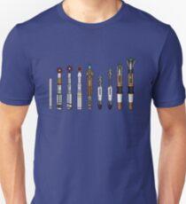 Sonic Screwdrivers  Slim Fit T-Shirt