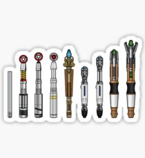 Sonic Screwdrivers  Sticker