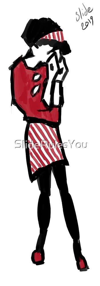Sad Ska Girl by SlideRulesYou