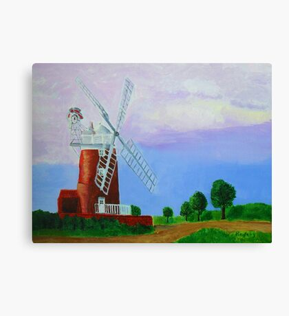 Cley Mill Canvas Print