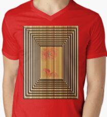abstract t-shirt design Mens V-Neck T-Shirt