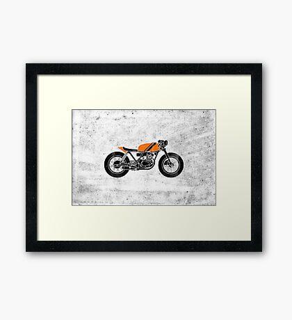 Café Racer Framed Print