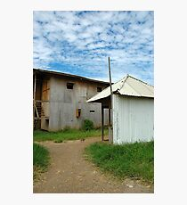 worker house Photographic Print