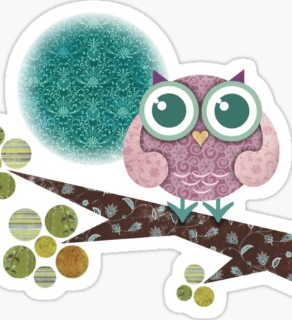 Midnight Owl Sticker