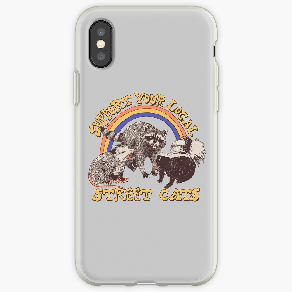 Street Cats iPhone Cases & Covers