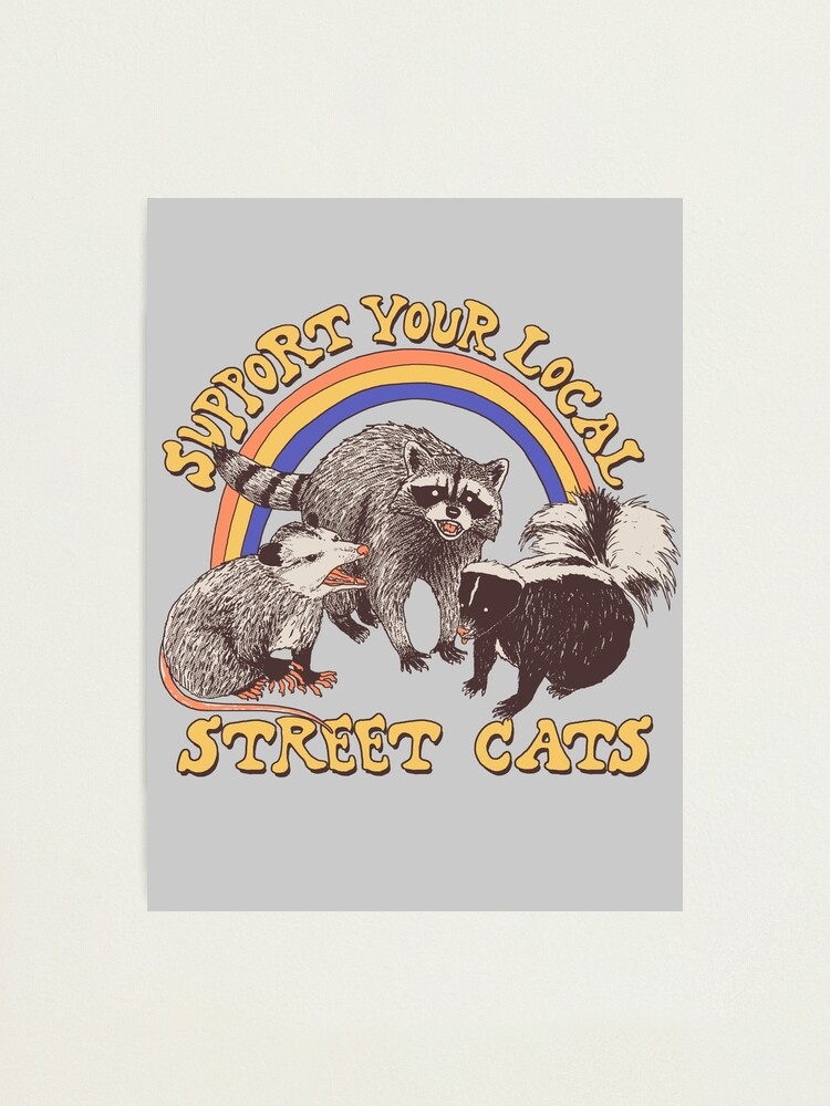 Alternate view of Street Cats Photographic Print