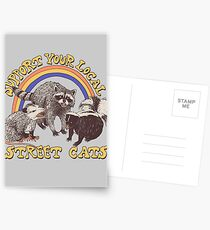 Street Cats Postcards