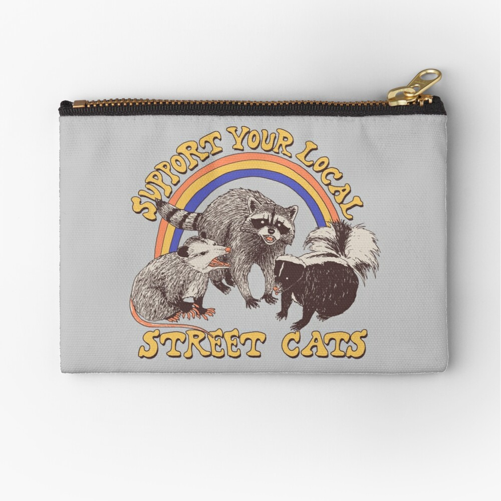 Street Cats Zipper Pouch