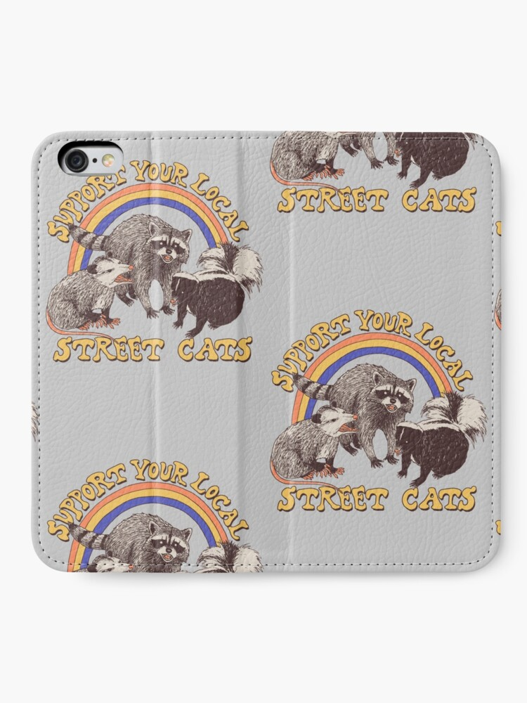 Alternate view of Street Cats iPhone Wallet