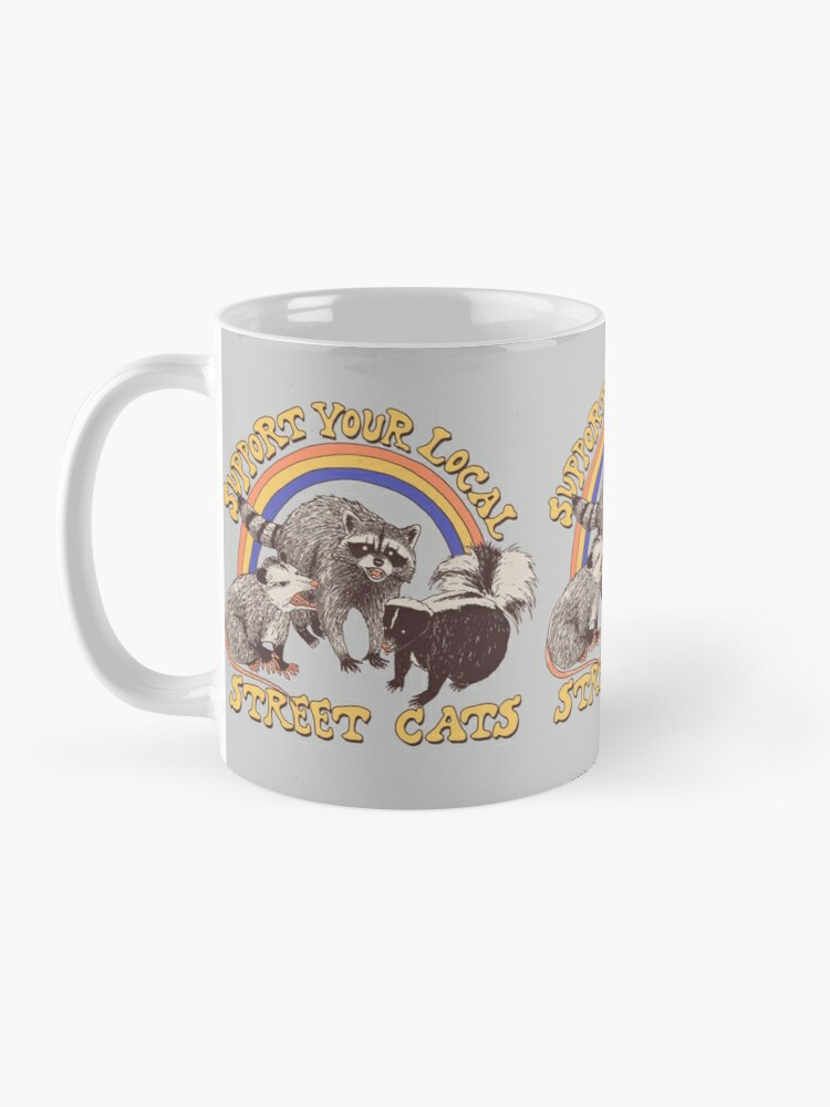 Alternate view of Street Cats Mug