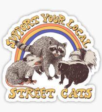 Street Cats Sticker