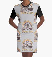Straßenkatzen T-Shirt Kleid
