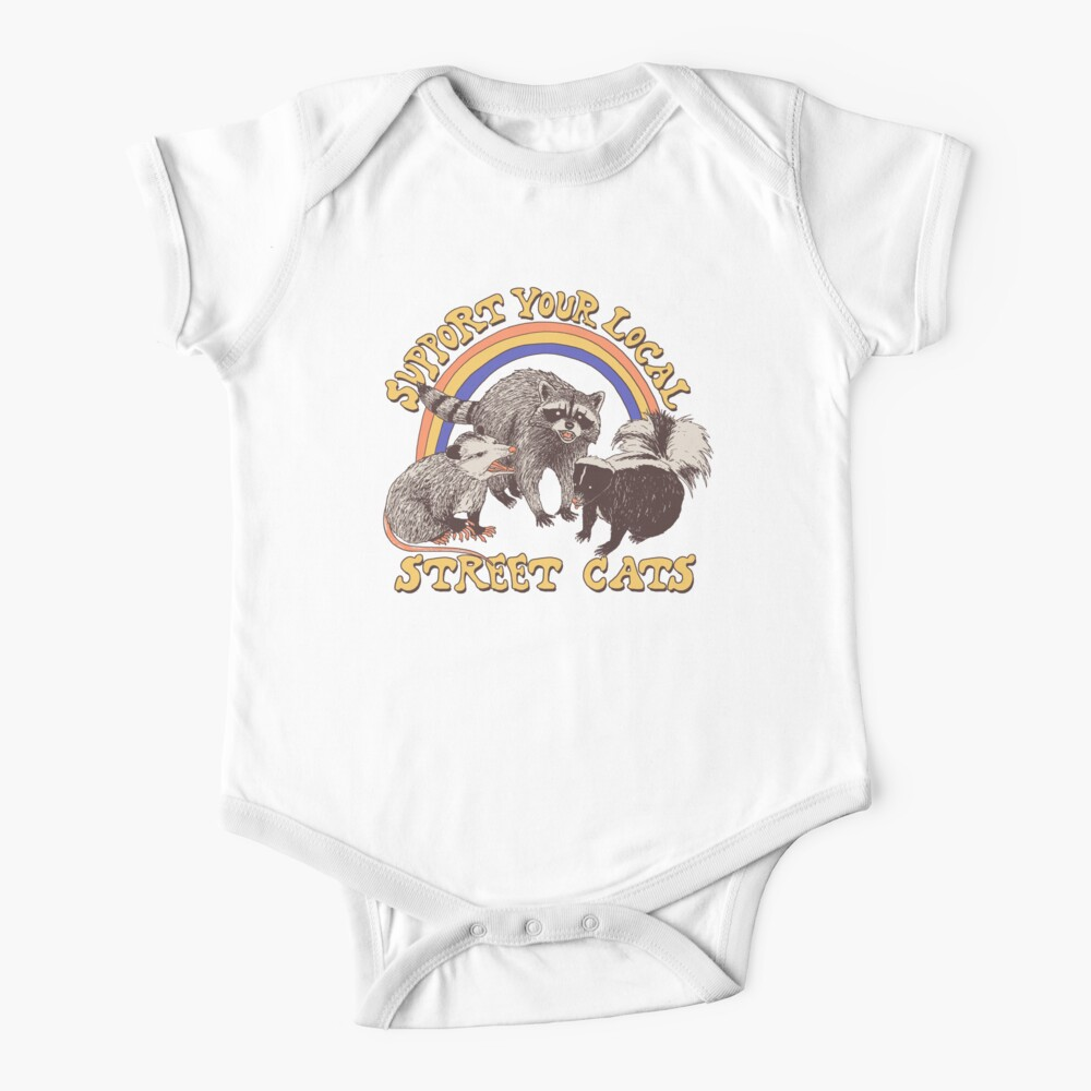 Street Cats Baby One-Piece