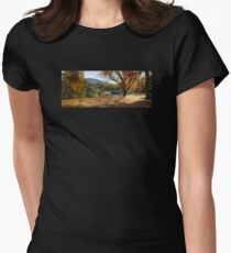 'Autumn leaves' - Jamieson, Victoria, Australia Womens Fitted T-Shirt