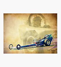 Vintage Dragster Photographic Print