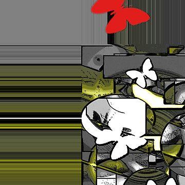 abstract t-shirt design by floaredecolt