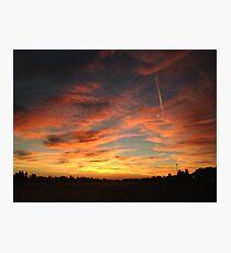 California Sun Photographic Print