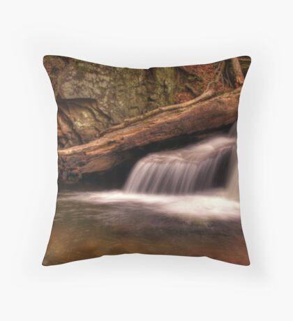 Delicate Cascade Throw Pillow