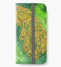Watercolor Peacock iPhone Wallet/Case/Skin
