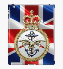British Armed Forces Emblem 3D iPad Case/Skin