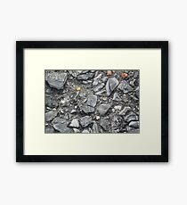 Gravel Framed Print