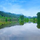 Loch Faskally Panoramic by Andrew Robertson