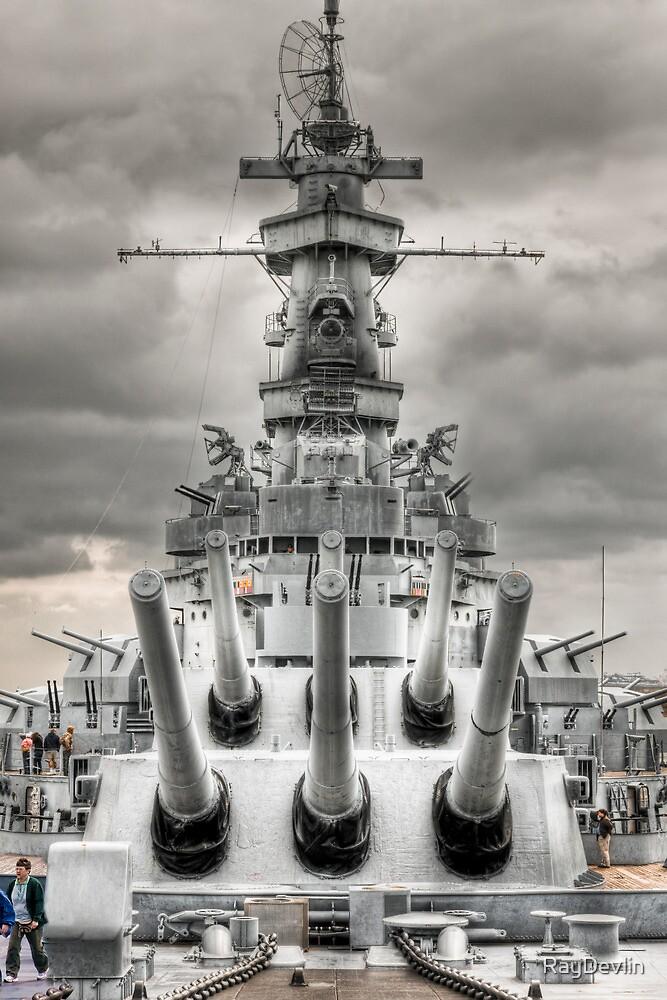 USS Alabama by RayDevlin