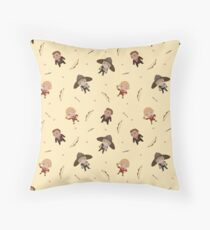 Cute Rogue Party Pattern Throw Pillow