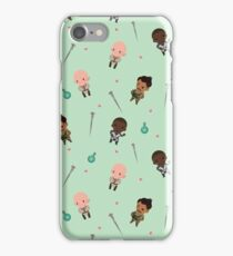 Cute Mage Party Pattern  iPhone Case/Skin