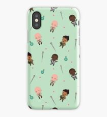 Cute Mage Party Pattern  iPhone Case