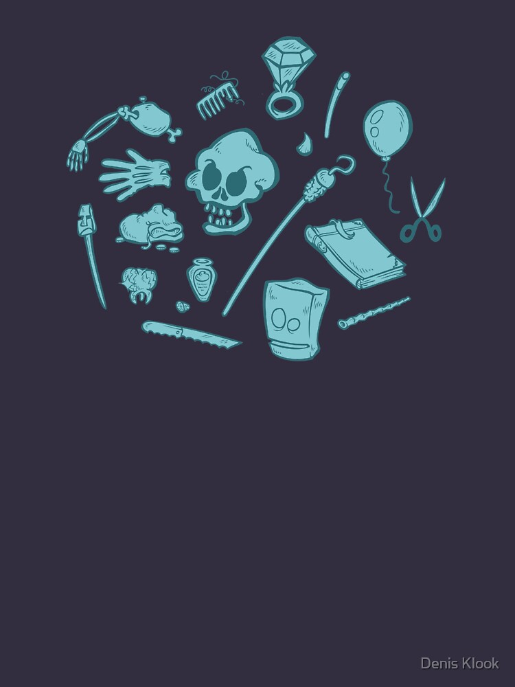 The Curse of Monkey Island Inventory (blue) by klook
