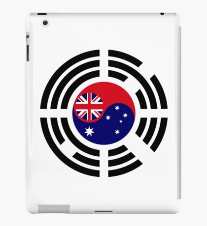 Korean Australian Multinational Patriot Flag Series iPad Case/Skin