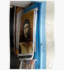 Che Guevara painting, Art shop, Cuba Poster