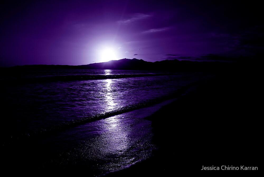 indigo sunset - Mexico by Jessica Chirino Karran