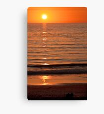 Carmel-by-the-Sea Sunset Canvas Print