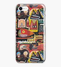Mutant pop corn  iPhone Case/Skin