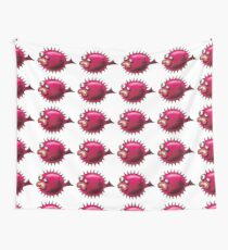 Grumpy Fish Wall Tapestry