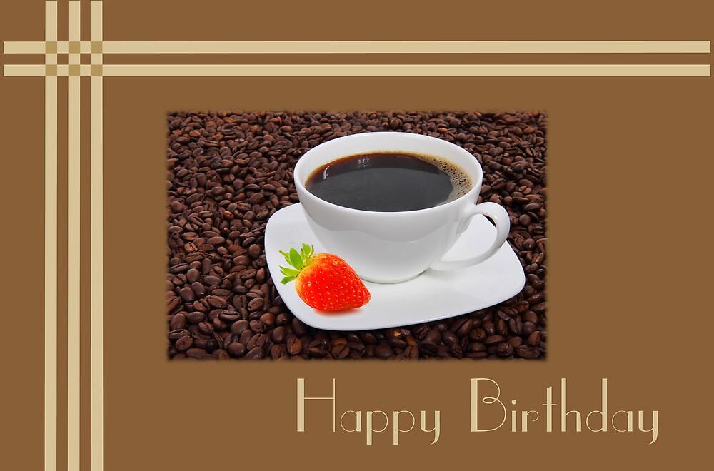 """Birthday Coffee"" by YellowGecko | Redbubble"
