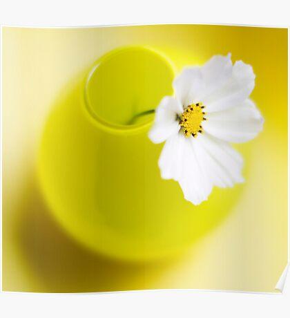 Little Yellow Vase Poster