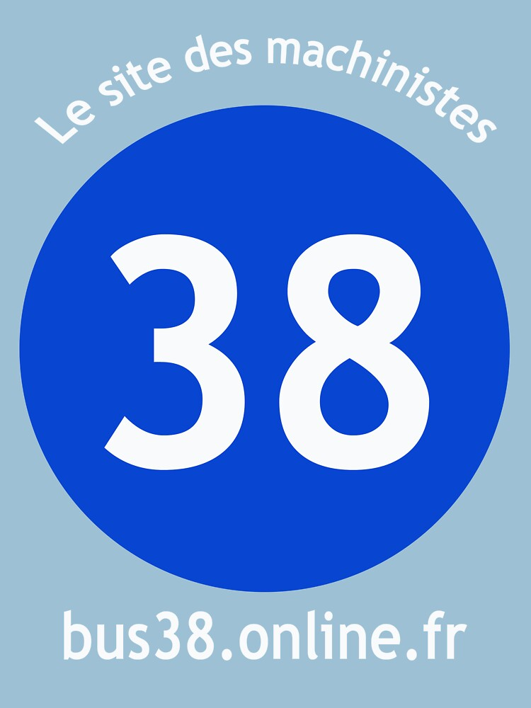 Bus 38 Paris (logo) dark by bus38