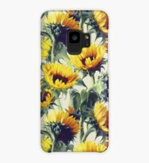 Sunflowers Forever Case/Skin for Samsung Galaxy