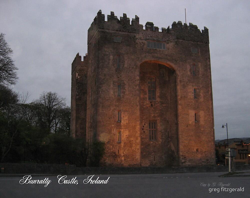 Bunratty Castle, Ireland by greg fitzgerald